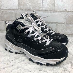 D Lites Diamond Glitter Chunky Lace Up Sneaker